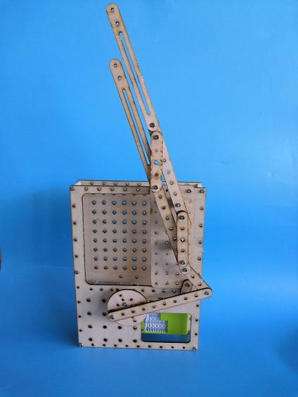 曲柄摇杆结构之雨刷器